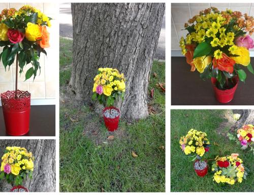 Fii diferit prin aranjamente florale diferite